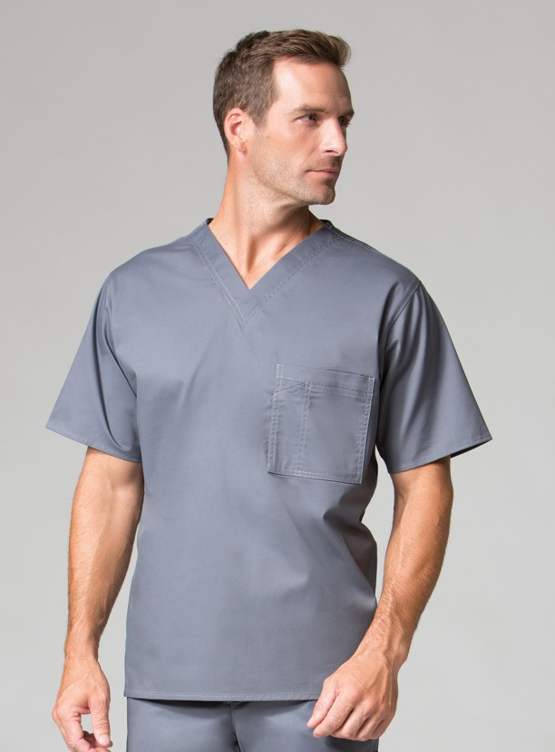 MAEVN UNIFORM MENS SCRUB TOP